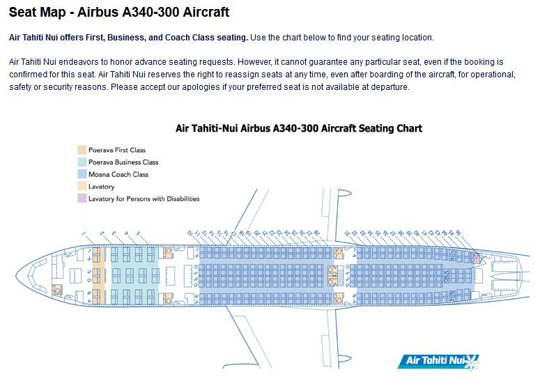 Aerolineas Argentinas A340 200 Seat Map Www