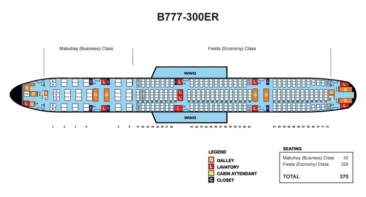 Boeing 777 300er Seating Chart
