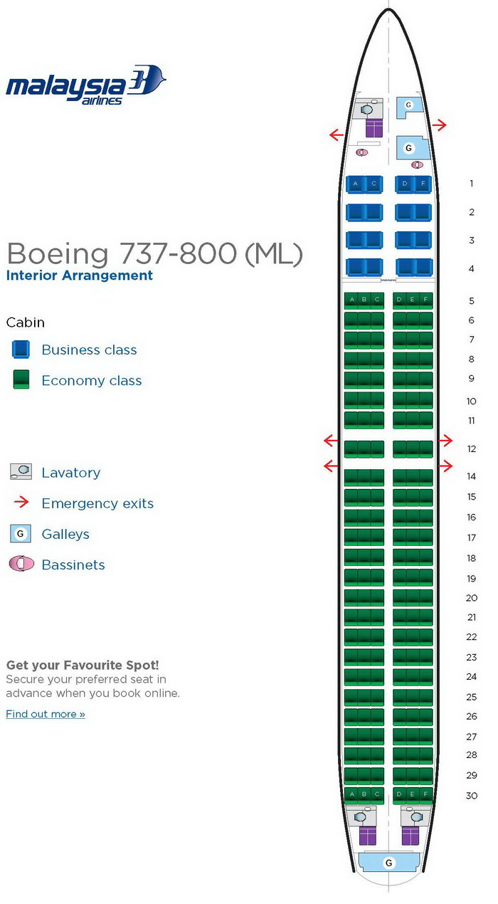 Malaysia Airlines Aircraft Seatmaps Airline Seating Maps