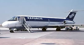 History Facts And Pictures Of Republic Airlines
