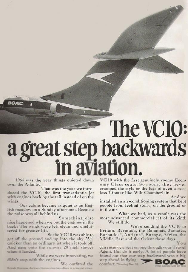 Vintage Airline Commercials 105