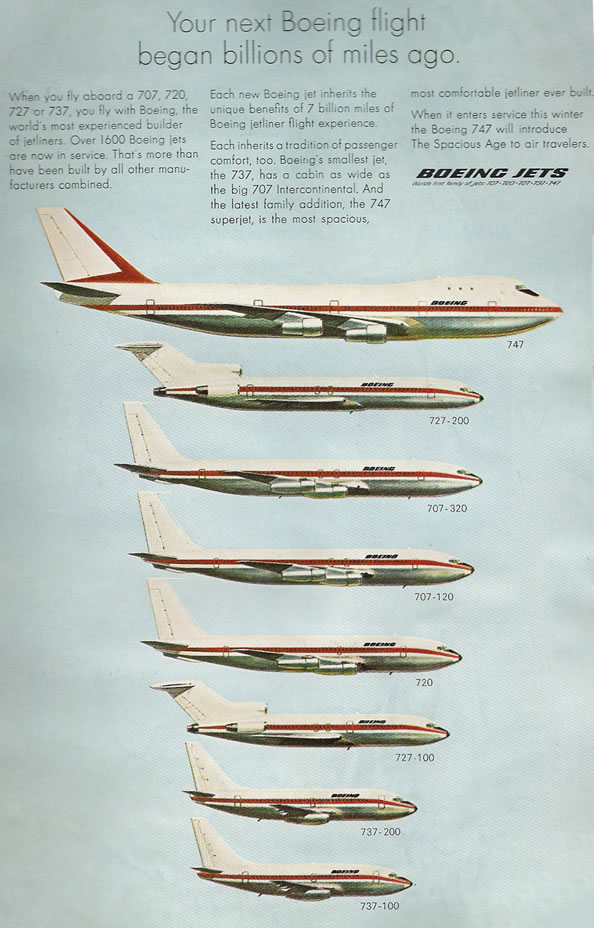 Boeing Jet Sizes Boeing Jets Picture