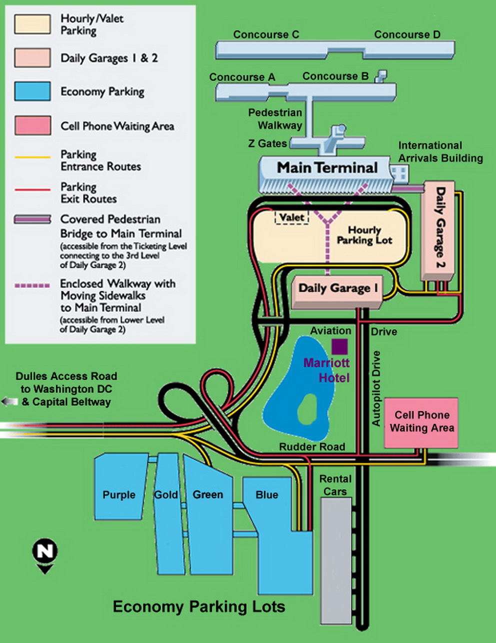 Airport Parking Map - dulles-airport-parking-map.jpg on