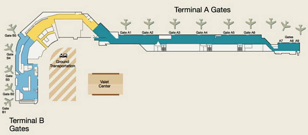 Airport Terminal Maps - Atlanta, Boston, Burbank, BWI, Charlotte ...