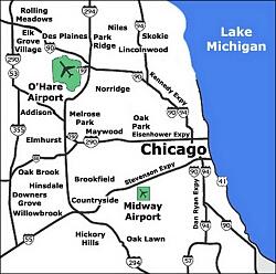 Airport Terminal Maps  Chicago Cincinnati Cleveland