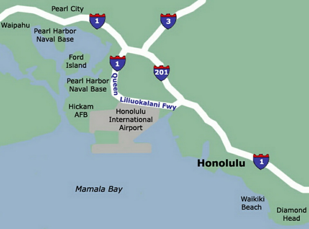 Honolulu Airport Map Images