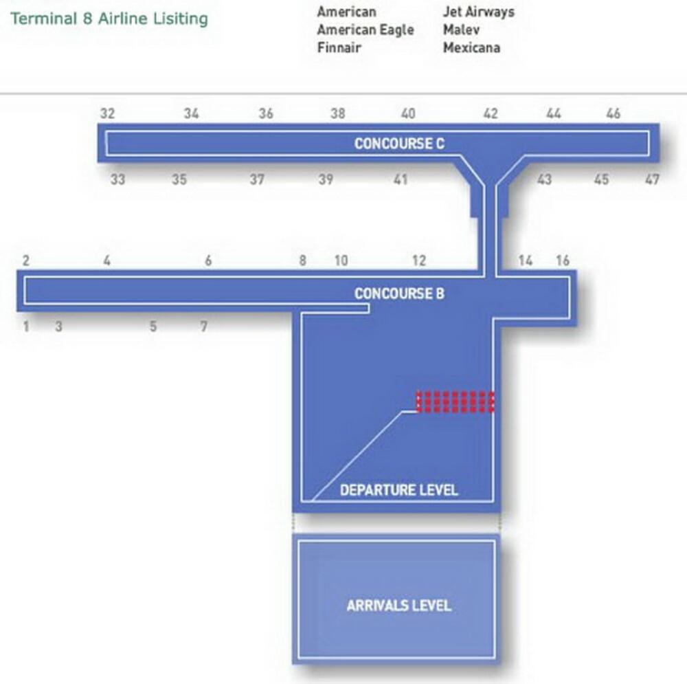 jfk terminal 8 gate map Airport Terminal Map Jfk Airport Terminal 8 Jpg jfk terminal 8 gate map