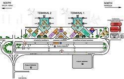 kona airport terminal map Airport Terminal Maps John Wayne Kansas City Kauai Kennedy kona airport terminal map