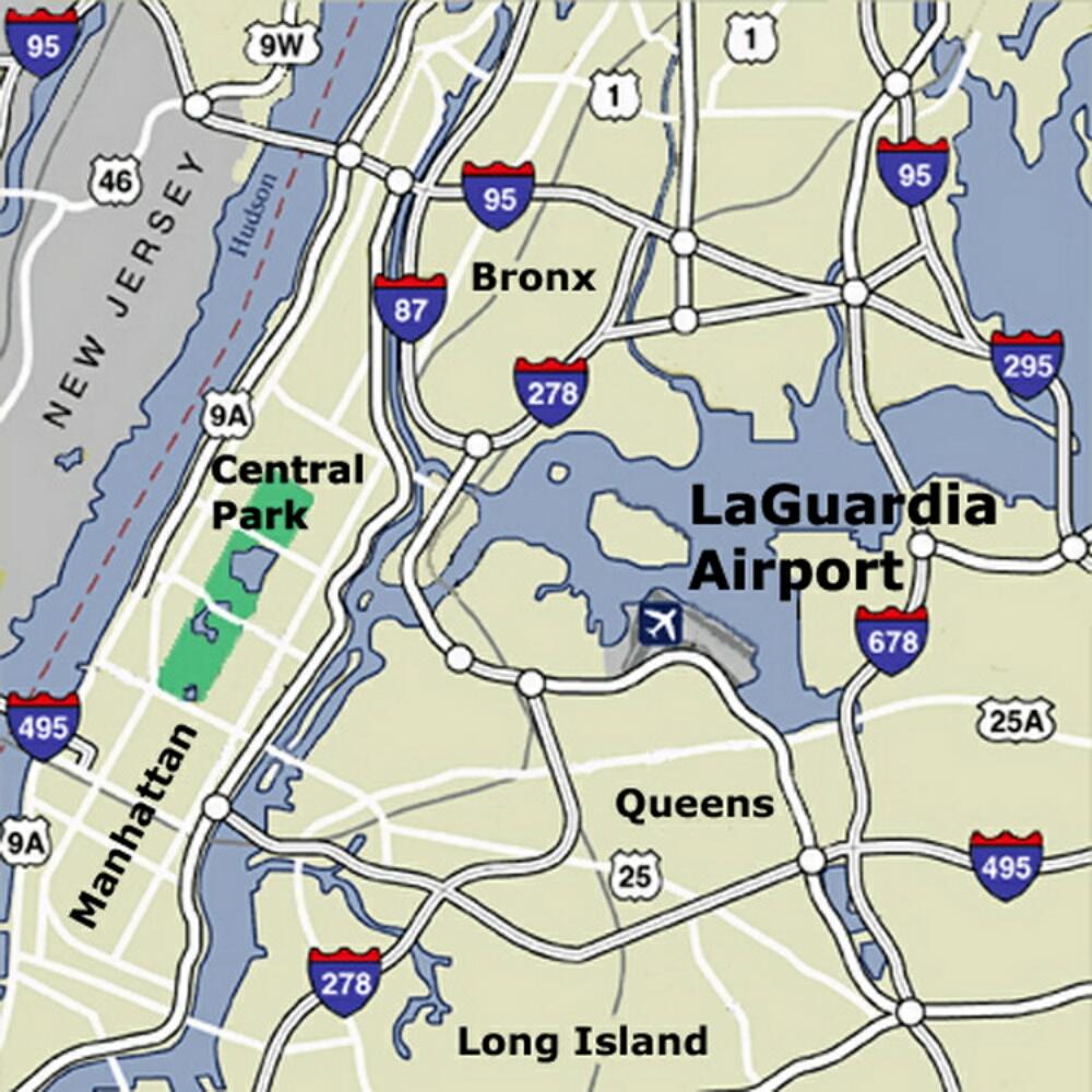 Airport Terminal Map Laguardiaairportmapjpg - Nyc map laguardia