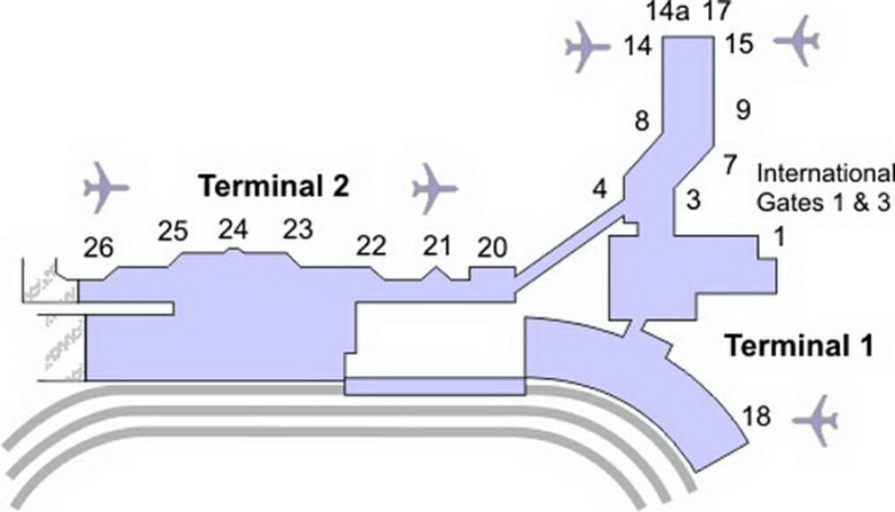 airport terminal map oakland airport terminal map