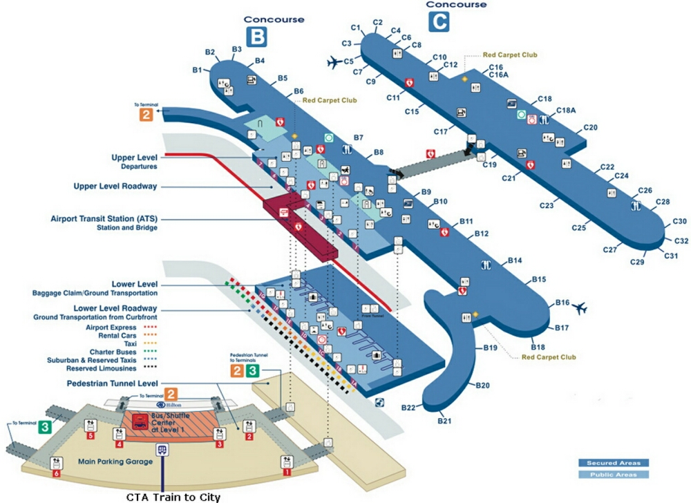 Newark Airport Terminal C Map Adriftskateshop