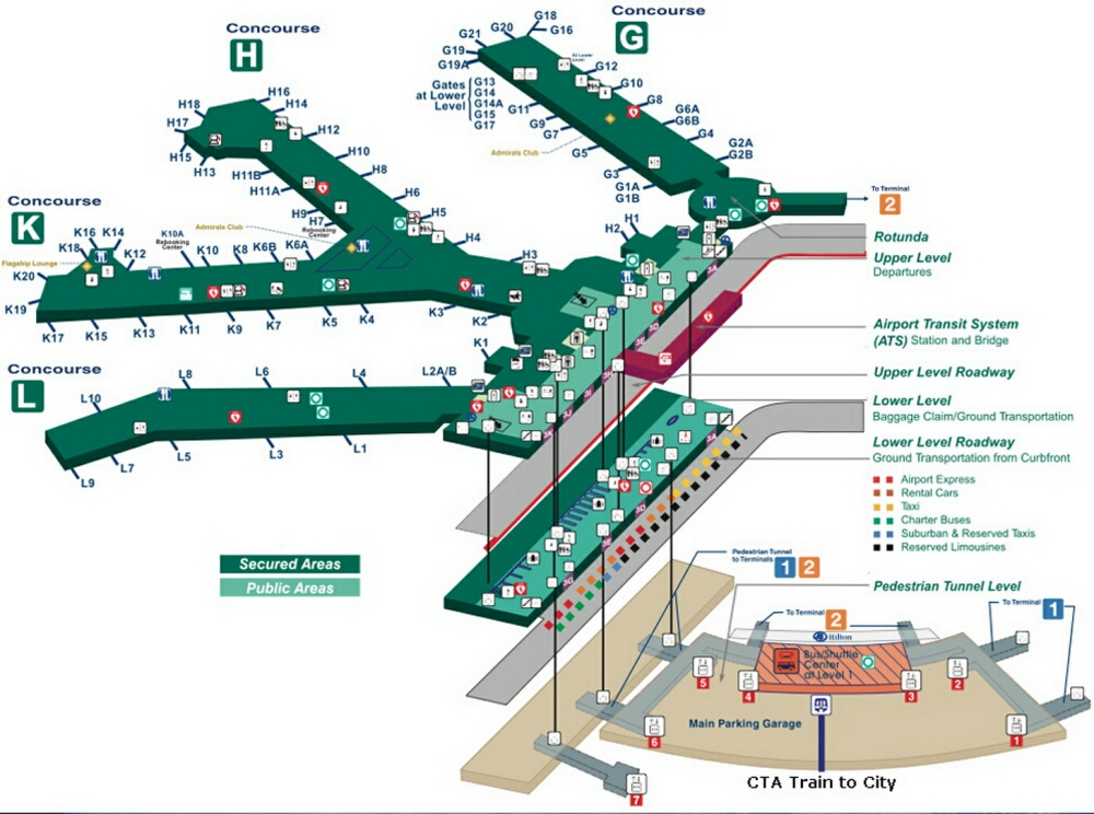 Airport Terminal Map - ohare-airport-terminal-3-map.jpg