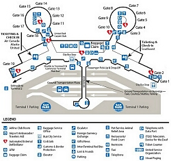 Slc Airport Terminal Map Airport Terminal Maps   Reagan National, Sacramento, Salt Lake