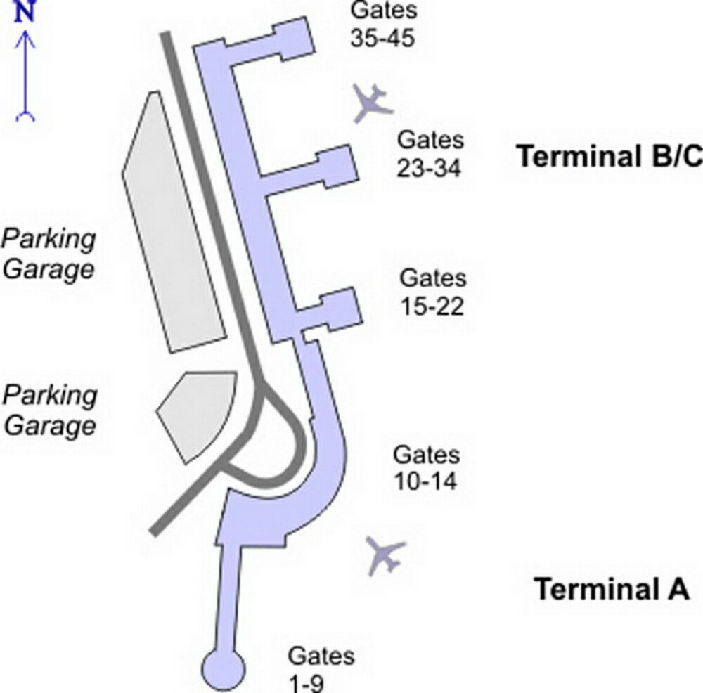 Airport Terminal Map - washington-dc-airport-terminal-map.jpg