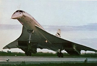 british airways supersonic airliner concorde