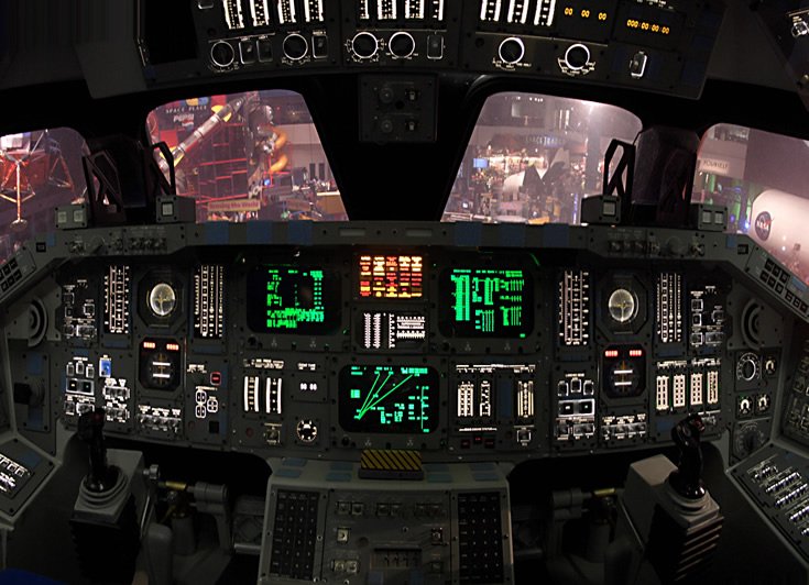 space shuttle home cockpit - photo #5