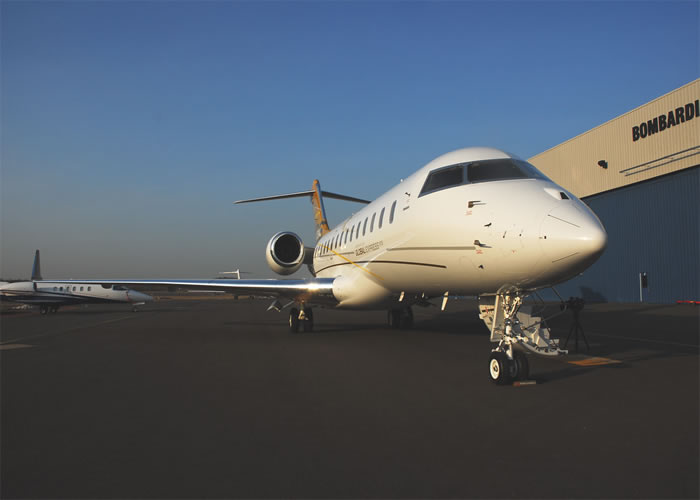 bombardier jet corporate aircraft