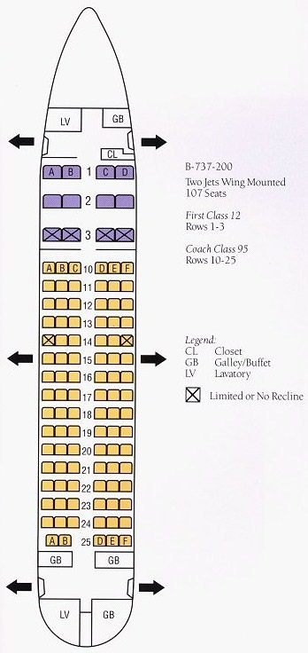 delta seating assignment