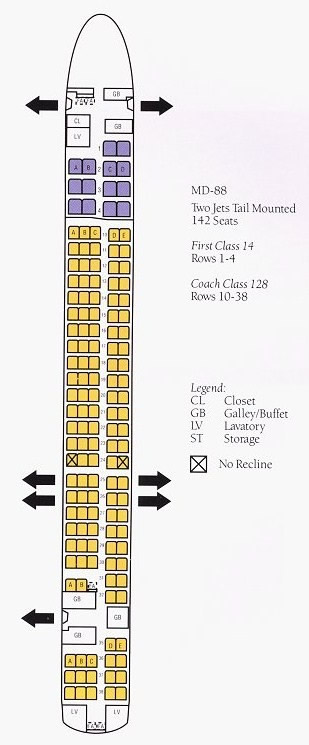 AIRLINE SEATING CHARTS | Boeing Airbus Aircraft Seat Maps
