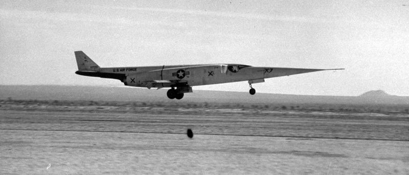 Douglas Experimental Aircraft X-3 In Flight