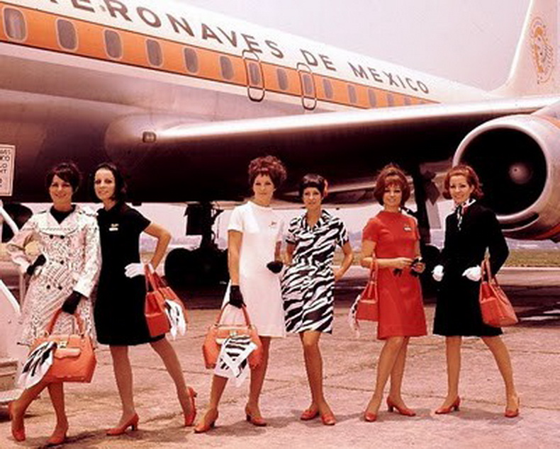 flight attendants aeronaves de mexico airlines