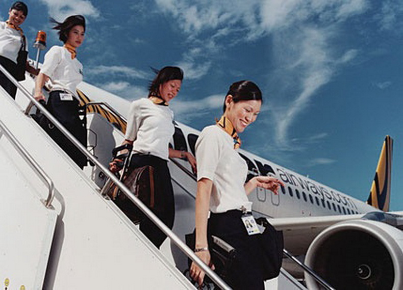 flight attendants from asia
