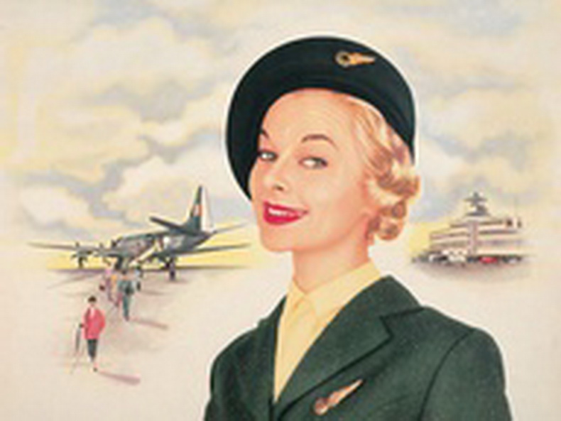 pan american airways flight attendant