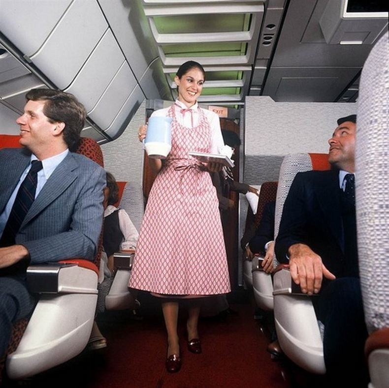 flight attendants 1970s
