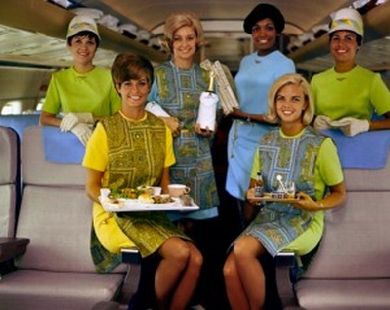 flight attendants from national airlines