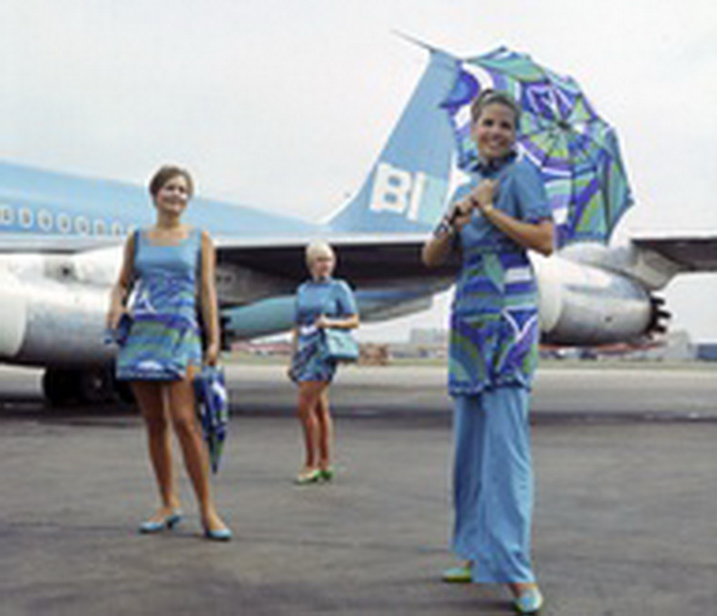 braniff stewardesses