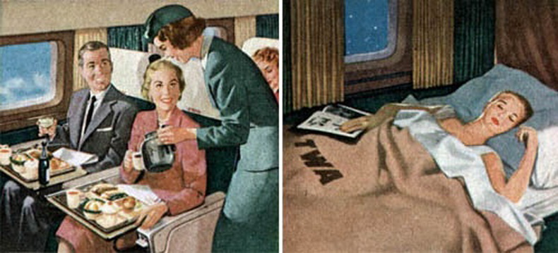 flight attendant on twa airlines