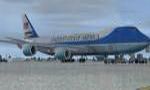 FSX and FS2009 Air Force One Boeing 747