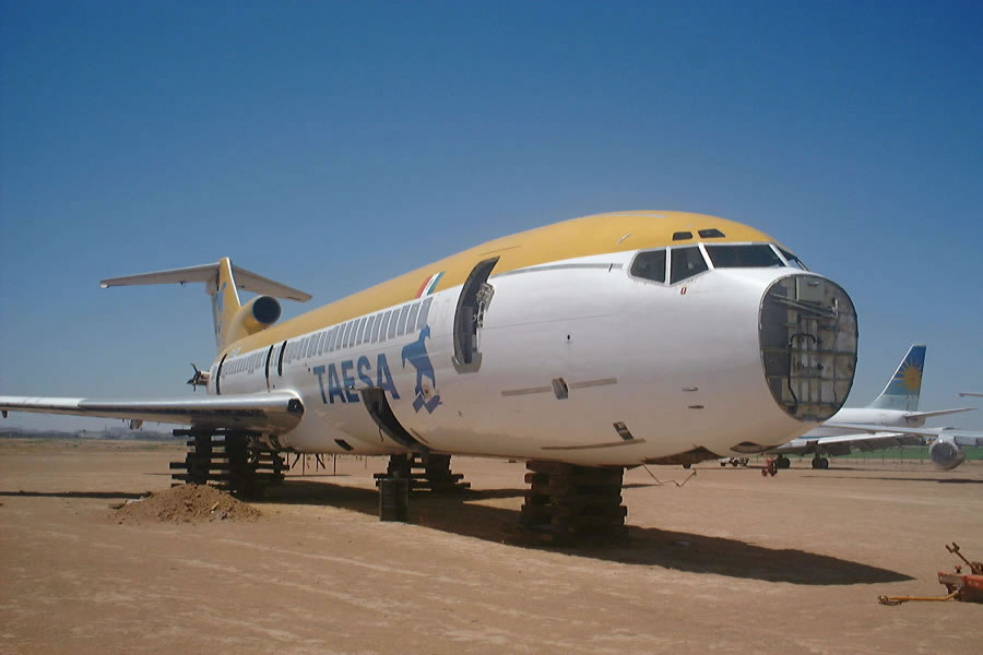 Goodyear Airport Arizona Boneyard Aircraft And