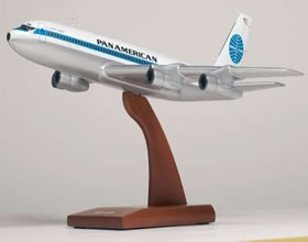 pan am boeing 707 320 jet model