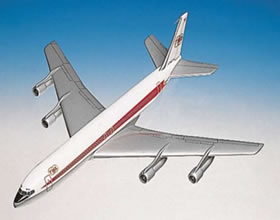 twa 707 desktop display model