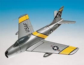 f86 sabre airplane model