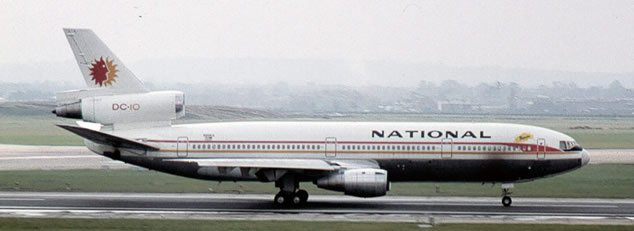 National Airlines Douglas DC-10