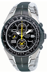 Pulsar Tech Alarm Chronograph Aviators Watch