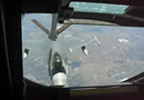 Aerial Refueling F-16s from a KC-135