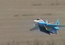 RC Mig 32 Lands with Landing Gear up