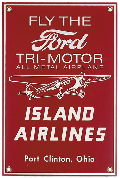 ford trimotor island airlines
