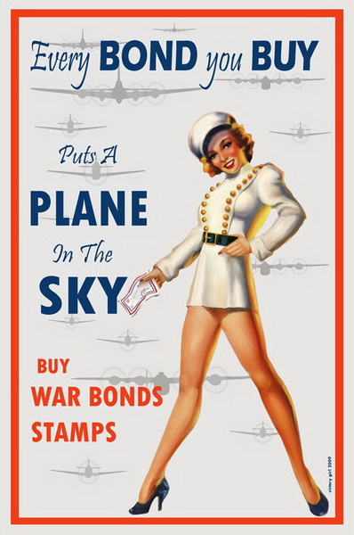 every bond you buy puts a plane in the sky