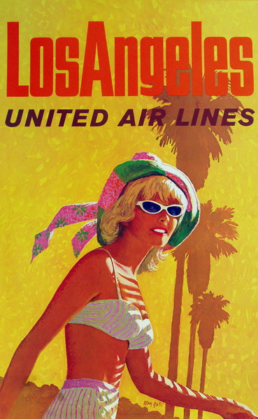los angeles by united airlines