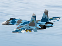 Sukhoi SU-27 Flanker For X-Plane Free Aircraft Download